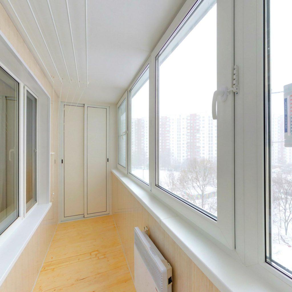 Утепленная лоджия 6 метров в панельном доме, цены под ключ -.