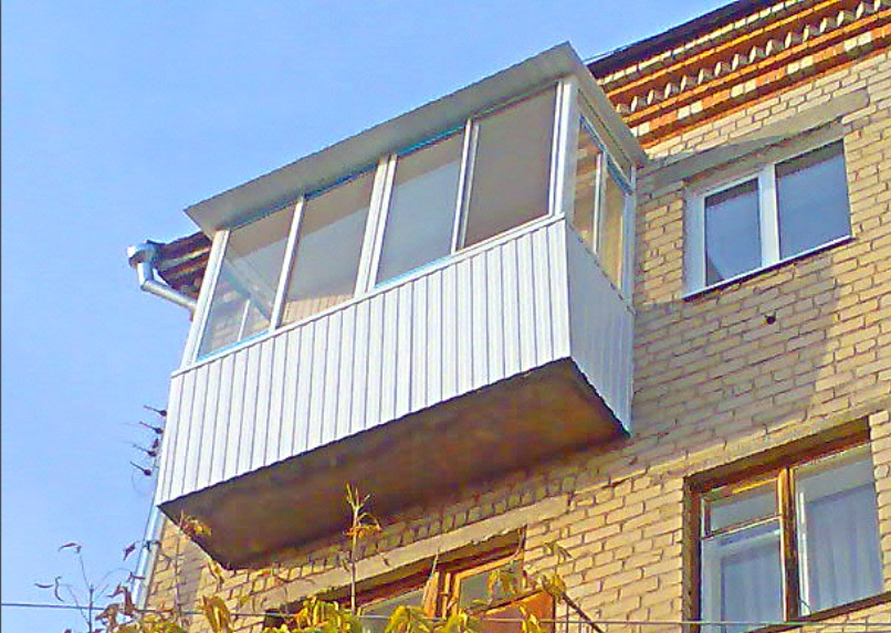 Балкон под ключ, самара, ул. панова, цены обшивка+крыша+окна.